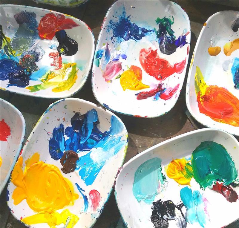 Julie Sajous, Artist and Art Teacher » Art Classes and Workshops